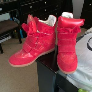 Red isabel marant's